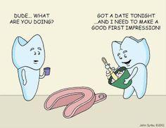 dating teeth